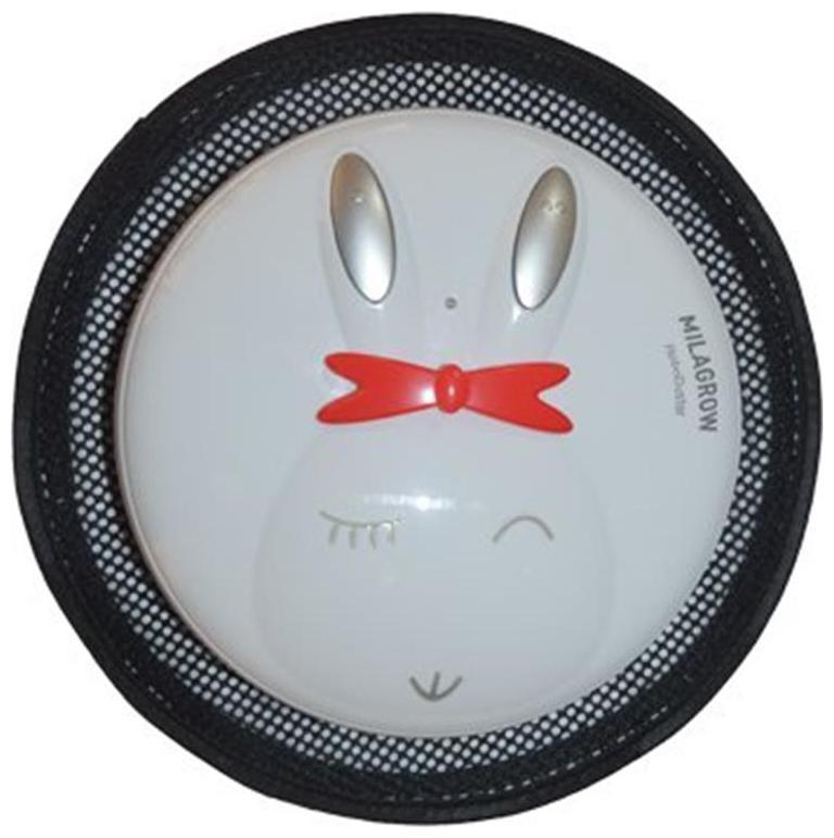 Milagrow RoboDuster Rabbit Robotic Floor Cleaner (Black & White)