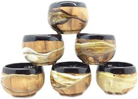 Millions Joy Ceramic Tea/Coffee Cup Set -Set Of 6