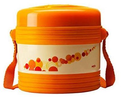 Milton Vector 2 Container Lunch Box   Orange by Hamilton Housewares