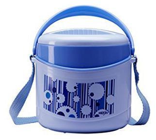Milton Econa 2 Containers Plastic Lunch Box Blue by Hamilton Housewares
