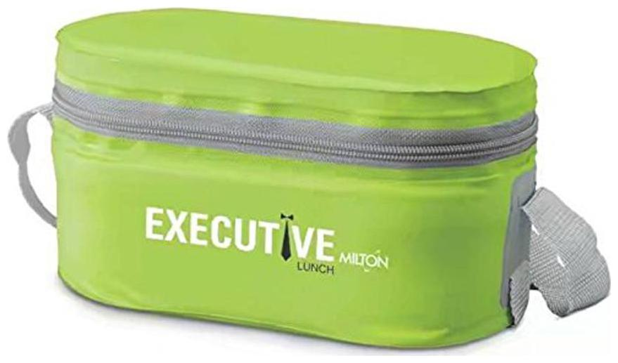 Milton 2 Containers Plastic Lunch Box   Green