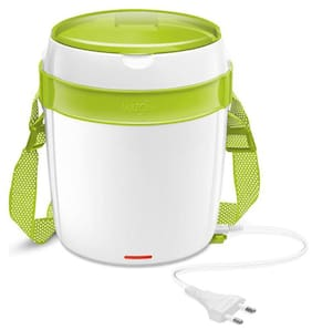 Milton Futron 3 Containers Plastic Lunch Box-Swan White