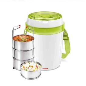 Milton Futron 4 Containers Plastic Lunch Box