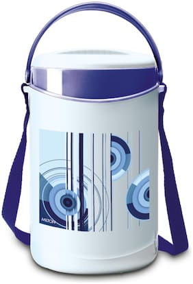 Milton Econa 4 Containers Plastic Lunch Box-Blue