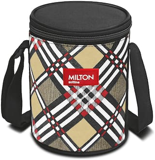 Milton SMART MEAL 4 4 Container Stainless Steel Lunch Box Set of 1 ( Violet ,  200 ml  , 320 ml  , 500 ml )