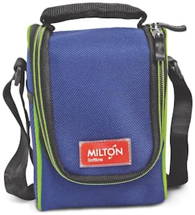 Milton Full Meal 4 Containers Plastic Lunch Box-Blue