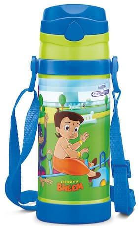 Milton Campy 650 Chota Bheem Ml Stainless Steel Water Bottle-Dark Blue