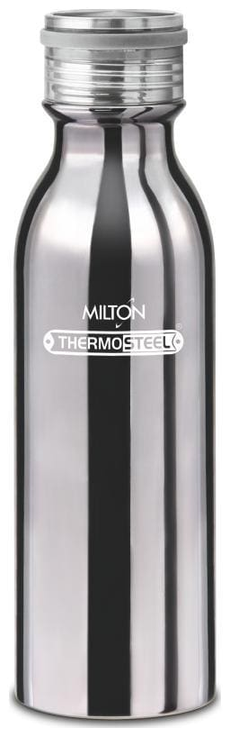 Milton 580 ml Stainless Steel Silver Water Bottles - Set of 1