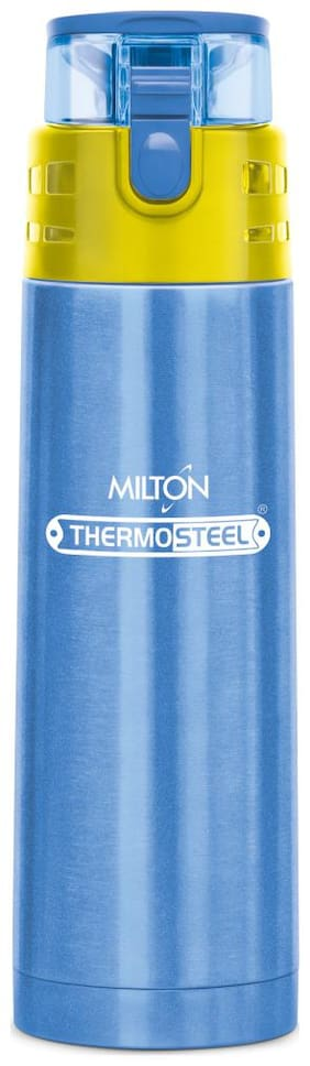 Milton Atlantis 900 Stainless Steel Hot & Cold Tea Water Bottle 750 ml Blue