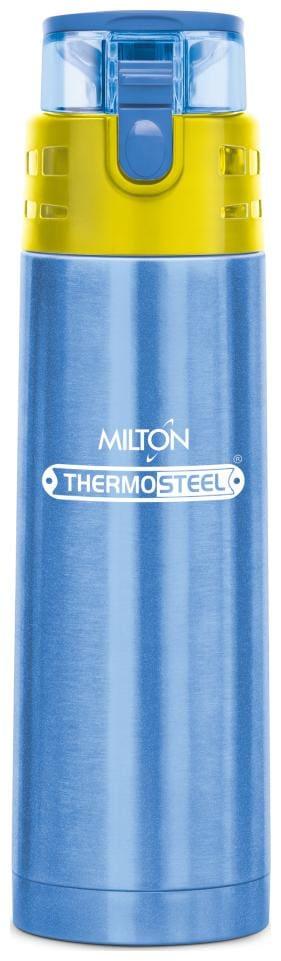 Milton Atlantis Thermosteel Bottles Set of 1 ( Blue , Stainless Steel ,  500 ml )