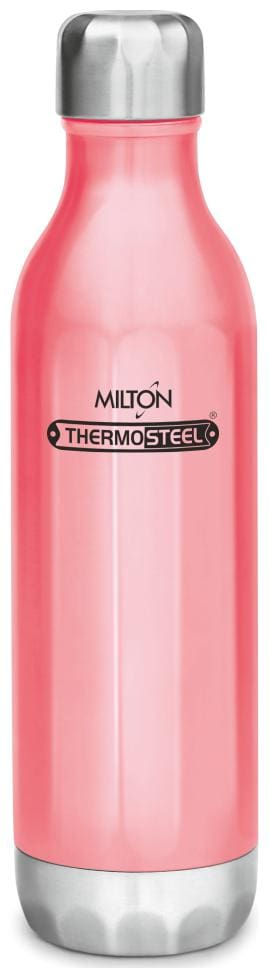 Milton Bliss Thermosteel Bottles Set of 1 ( Pink , Stainless Steel ,  540 ml )