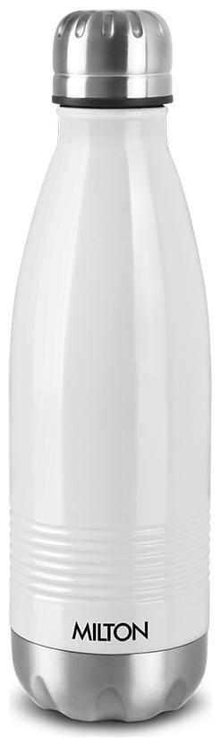 Milton Thermosteel Flask Set of 1 ( White , Stainless Steel ,  1000 ml )