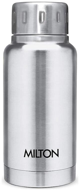 Milton ELFIN THERMOSTEEL Thermosteel Flask Set of 1 ( Silver , Stainless Steel ,  160 ml )