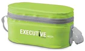 Milton Executive Insulated Stainless Steel Lunch Box, Set of 3, 300ml, Green