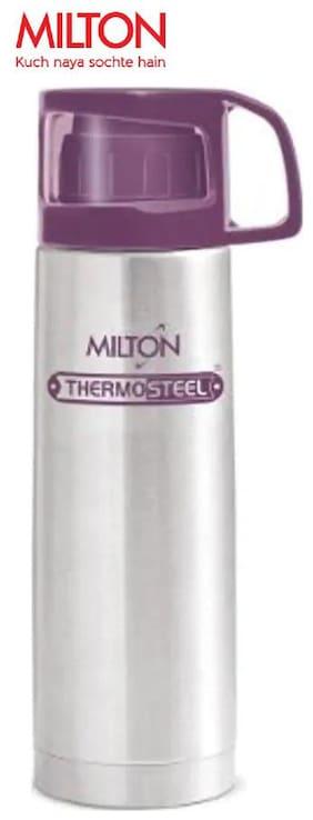 Milton Glassy Thermosteel Flask Set of 1 ( Purple , Stainless Steel ,  1000 ml )