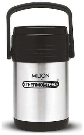 Milton 4 Containers Stainless steel Lunch Box - Silver