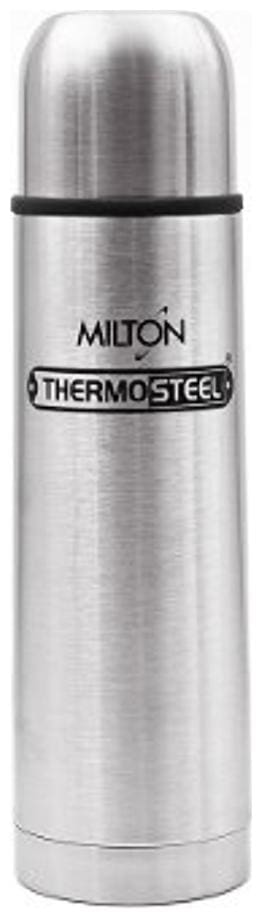 Milton Insulated Thermosteel Flip Lid Flask, 1 pc, 1 Ltr, Silver