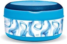 Milton SMALL BITE 1 Container Plastic Lunch Box Set of 1 ( Blue ,  590 ml )