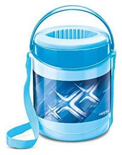 Milton 3 Containers Plastic Lunch Box - Blue