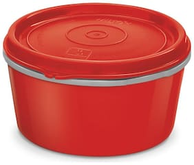 Milton Microwow Plastic 350 ml Lunch Box;Red