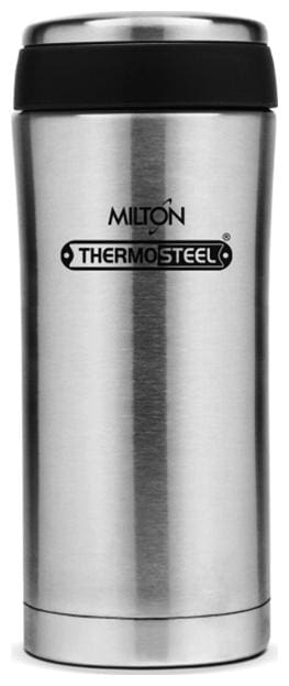 Milton Optima Insulated Thermosteel Flask, 1 pc, 350ml, Silver