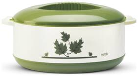 Milton Orchid Insulated Thermoware Casserole;1-Piece;2500 ML;Green