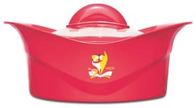 Milton Regalia Insulated Thermoware Casserole with Glass Lid;1-Piece;1000 ML;Red