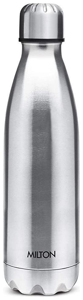 Milton Shine 800, 775ml Stainless Steel Water Bottle, Silver