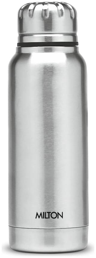 Milton SLENDER 270 Thermosteel Flask Set of 1 ( Silver , Stainless Steel ,  270 ml )