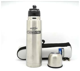MILTON Small ThermoSteel 350 Flip Lid Stainless Steel Bottle Thermos Container