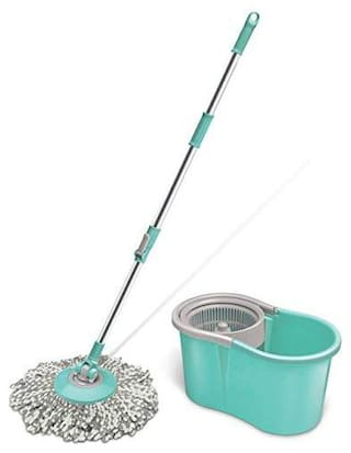 Milton Spotzero By Milton Mini Spin Mop;Aqua green