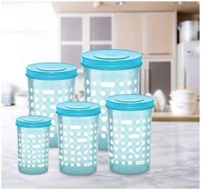 Milton Storex 5 In 1 Plastic Container Set;500 ml;1 L; 1.5 L;2 L;750 ml (5 pcs Set)