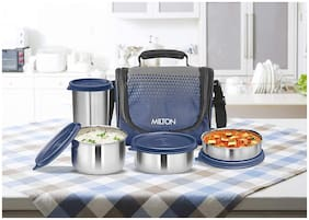Milton Tasty Lunch 3 Combo  Stainless Steel Set of 3