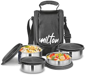 Milton Tasty Lunch Stainless Steel Set of 4
