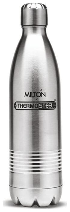 Milton Thermosteel Duo DLX 24Hour Hot & Cold Bottle;1-Piece;500 ML;Silver