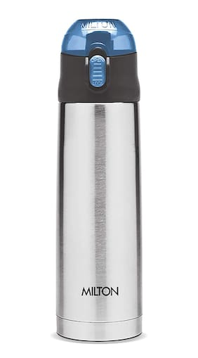 Milton CROWN 900 Thermosteel Flask Set of 1 ( Silver , Stainless Steel ,  900 ml )