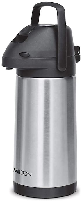 Milton PINNACLE 2500 Thermosteel Flask Set of 1 ( Silver , Stainless Steel ,  2500 ml )