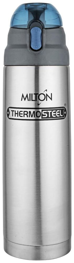 Milton 750 ml Stainless Steel Silver Water Bottles - Set of 1