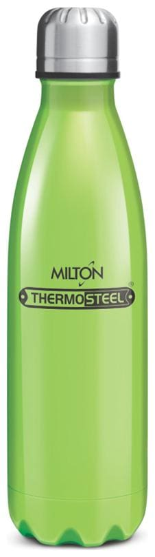 Milton Thermosteel Duo DLX 24Hour Hot & Cold Bottle;1-Piece;750 ml;Green