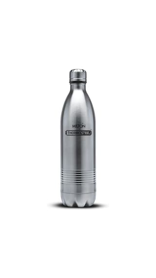 Milton Thermosteel Duo DLX 24Hour Hot & Cold Bottle;1-Piece;750 ML;Silver