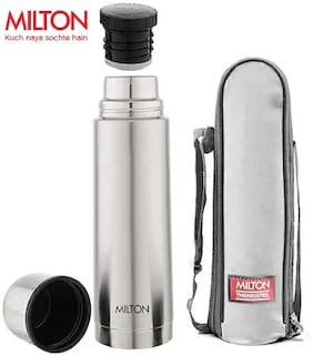 Milton Thermosteel Thermosteel 500 ml With Plain Lid Bottle Flask