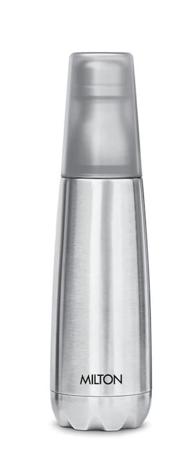 Milton VERTEX 1000 Thermosteel Bottles Set of 1 ( Silver , Stainless Steel ,  1000 ml )
