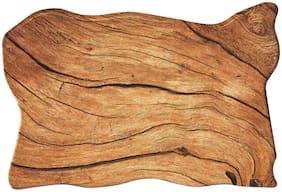 Milton Woodwave Melamine Serving Slate, 1 Piece, 40 cm, Brown   Easy to Clean   Break Resistant   Cheese Slate   Starter Slate