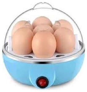 Mini Electronic 7 Egg Boiler & Cooker Blue