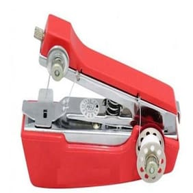 Imported Manual Sewing Machine ( Red )
