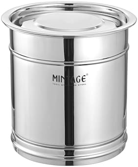 Mintage Stainless Steel Pawali Silver