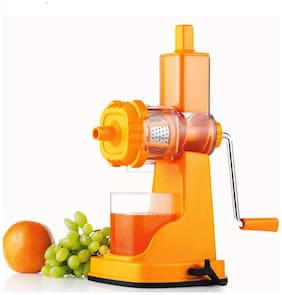 Miracle Royal Fruit & Vegetable unbreakable Plastic Hand Manual Fruit Juicer Extractor Any Color By DealDelivery