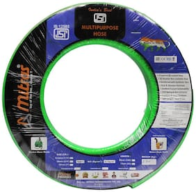 Mitras Multipurpose Hose 1/2 (12.5mm ID) - 50 ft (15 m) - ISI Marked 3 Layered Hose Pipe