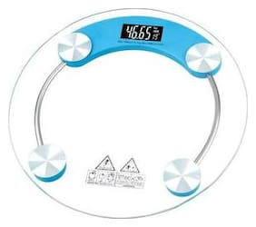 Mixoma Digital Personal Bathroom Weight Machine With Glow Light Led Display weighing scale