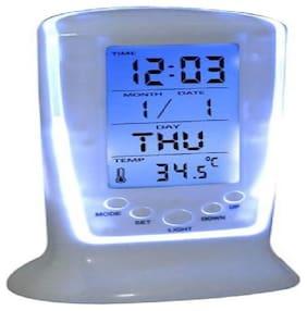 mixoma Plastic Digital Alarm clock ( Set of 1 )